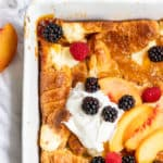 French Toast Bake with Berries