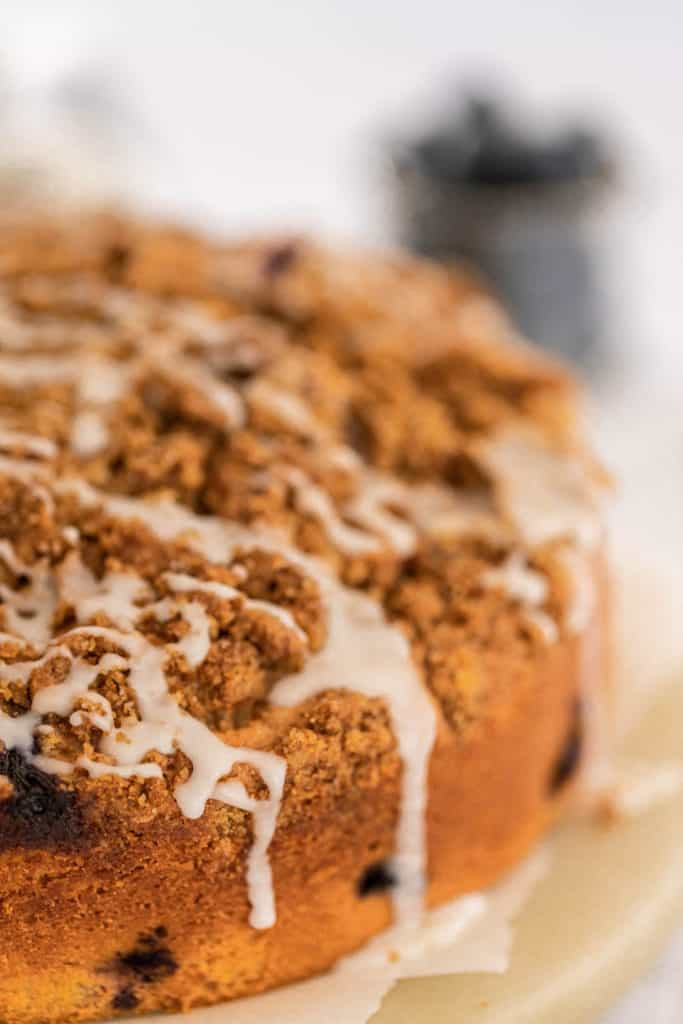 Upclose Coffee Cake