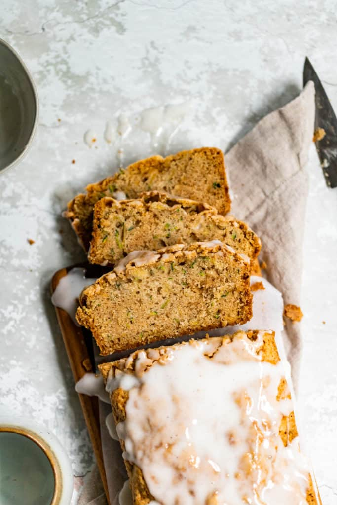 Zucchini Loaf with Chai Spice