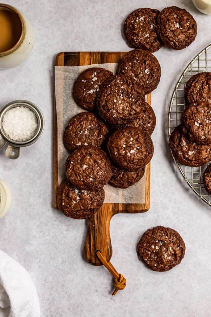 Chocolate Fudgy Cookies