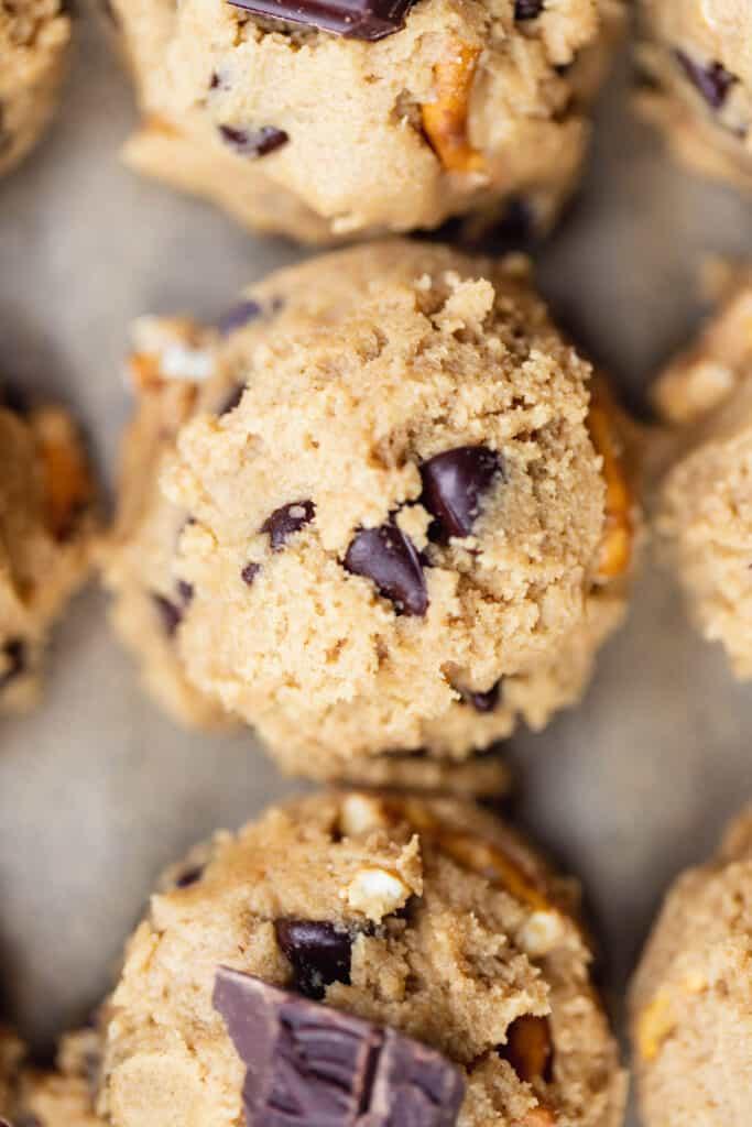 Peanut Butter Cookie Dough Scoop