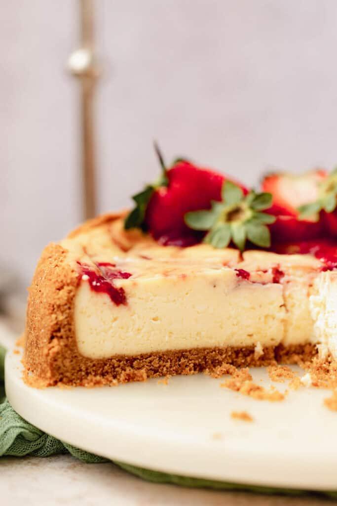 Strawberry Cheescake Slice