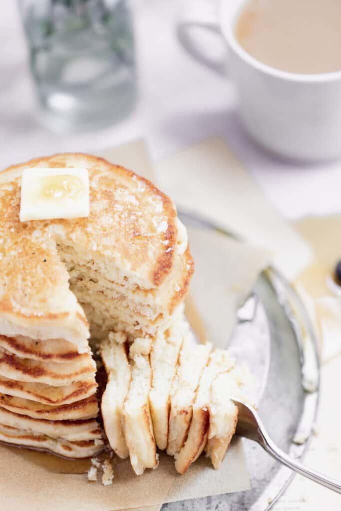 Stack of pancakes