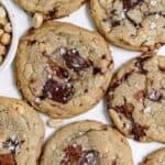 Salted Caramel Peanut Cookies