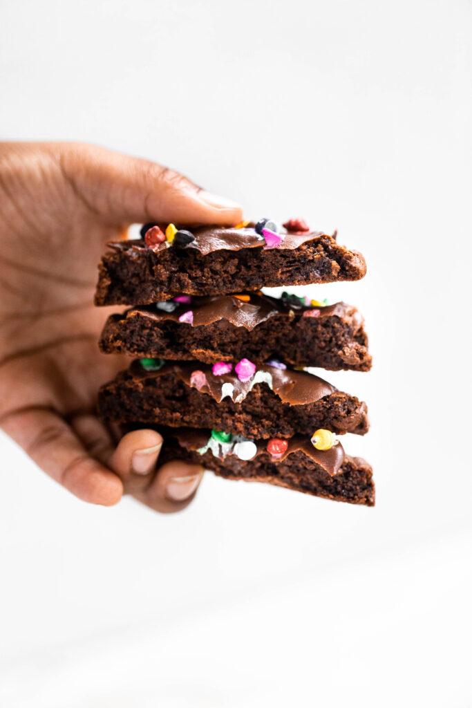 Cosmic Brownie Cookies