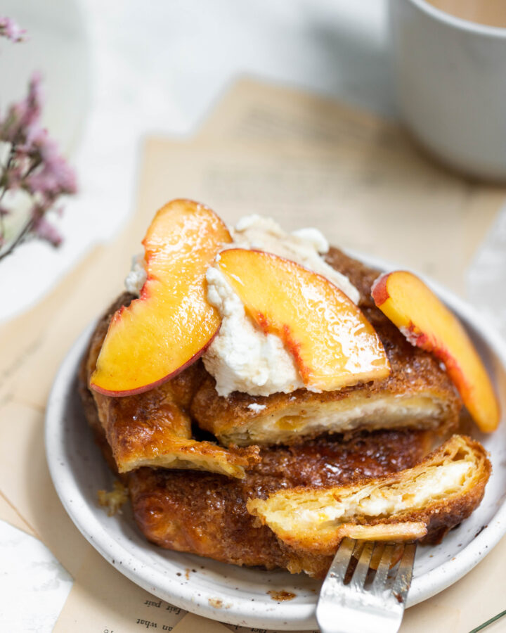 Baked Croissant French Toast